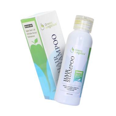 TERMURAH..!!! Green Angelica Hair Shampo Penghilang Ketombe Penyubur Rambut Pencegah Rambut Rontok Alami dan Halal Terbaik