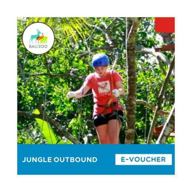 Bali Zoo Park Jungle Outbound E-Voucher [Adult]