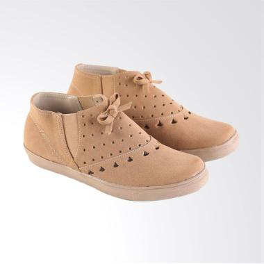 Garsel L530 Fashionable Casual Shoes Woman Synthetic - Brown