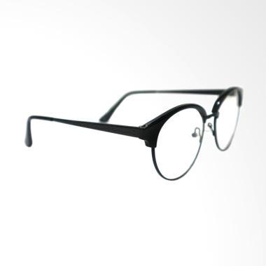 Ragnarok 847 Frame Bulat Kacamata Pria - Black