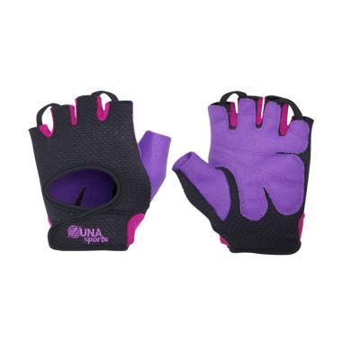 Zuna Sport Ladies Sunrise Fitness Gloves - Ungu