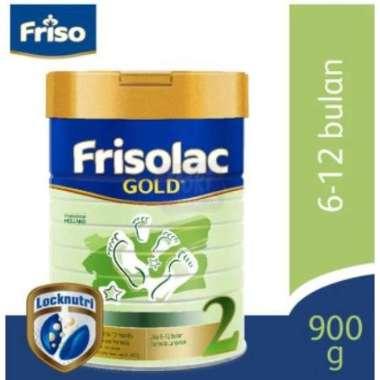 Frisolac Gold 2 900gr - Susu Formula Bayi Tahap 2 (6-12 Bulan)