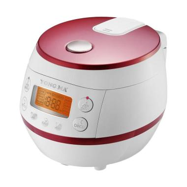 Yong Ma YMC 112 Auto Clean Smart Rice Cooker - White