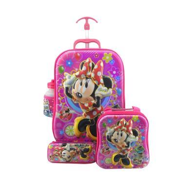 DJ Fashion 0489 6D 4in1 Set Tas Sekolah Anak