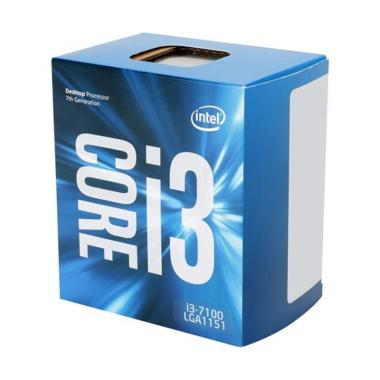 Intel Core i3-7100 Kaby Lake Processor [Dual-Core 3.9 GHz/ LGA 1151]
