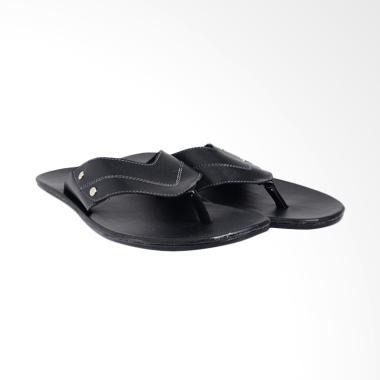 Dr.Kevin PU Leather Sandals Men - Black 97186