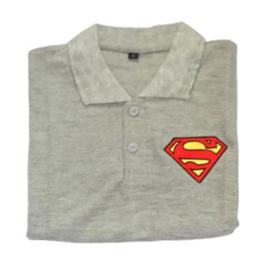 Cotton Karakter Superman Kaos Bordir Baju ...