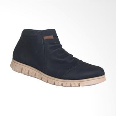 Frandeli Anthonio Zipper Original Sepatu Pria - Black