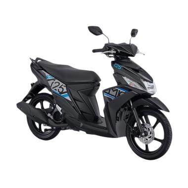 Yamaha New Mio M3 125 CW Sepeda Motor - Amazing Black