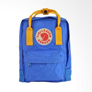 Fjallraven Kanken Mini Backpack - UN Blue Warm Yellow