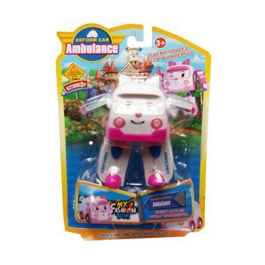 MOMO Robocar Poli Amber Robot Ambul ... n Figure 378B Mainan Anak