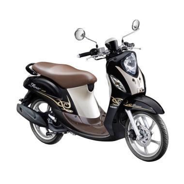 Yamaha New Fino 125 Premium FI Sepeda Motor - Black Espresso