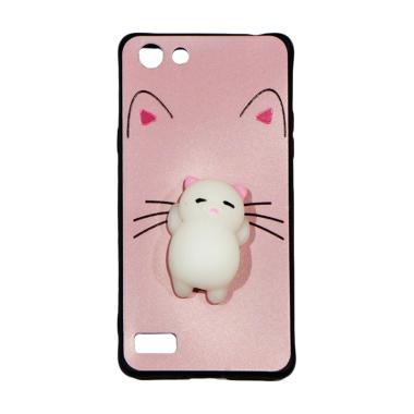 Winner Squishy Lazy Cat Softcase Casing for Oppo A33 Neo 7