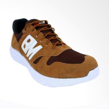 Frandeli BM Trainer Running Shoes Sepatu Olahraga Pria - Tan