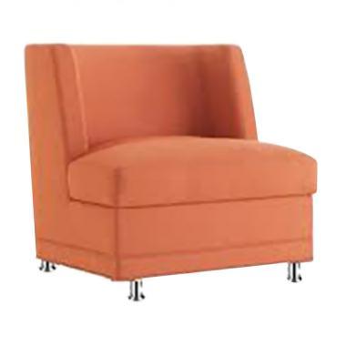Ivaro Komald 1 Seater Sofa - Orange