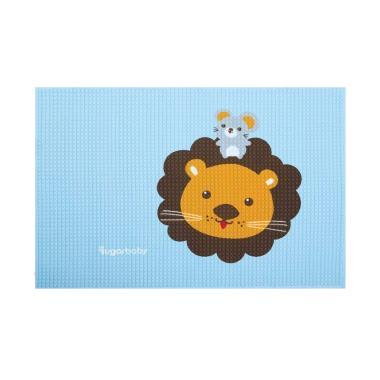 Sugar Baby Lion Organic Healthy Cot ...  Bayi - Blue [90 x 60 cm]