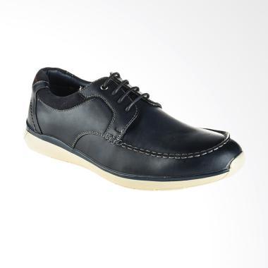 Bata Coman Sepatu Pria - Blue [8219429]