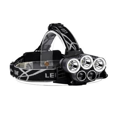 OEM Headlamp HL301 3x Cree XM-L wit ...  Flashlight Senter Kepala