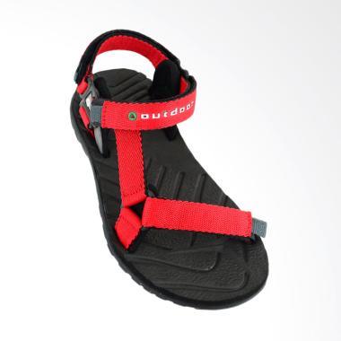 Outdoor Neeladri Sandal Gunung Wanita - Red