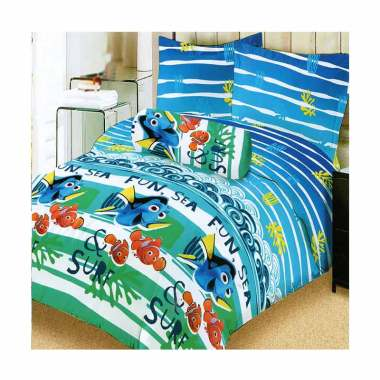 Lady Rose Dory & Nemo Set Sprei - Blue