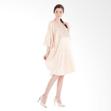Mamibelle Fairuz Kaftan Mini Dress - Gold