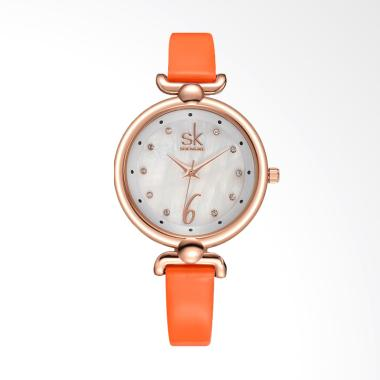 SHENGKE SK0002O Top Brand Luxury Di ... am Tangan Wanita - Orange
