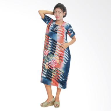 Batik Alhadi DPT001-25B Daster Kerut Baju Tidur Lengan Pendek