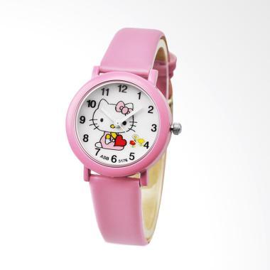 Hello Kitty WAT1508F Cute Candy Lea ... gan Anak Perempuan - Pink
