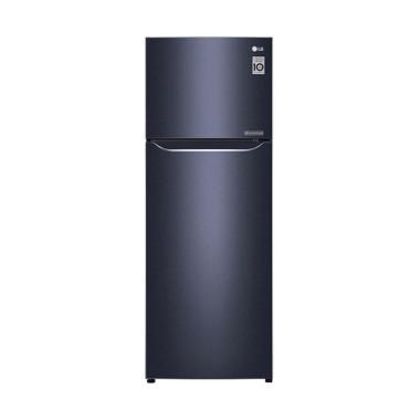 LG GNC272SQCN Small 2 Door Refriger ... ck Purple [254 L/2 Pintu]
