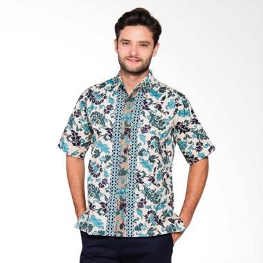 Adiwangsa Model Slim Fit Modern Baju Kemeja Batik Pria [001]