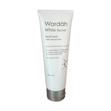 Wardah White Secret with Natural AHA Facial Wash [100 mL]