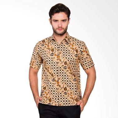 Adiwangsa Model Slim Fit Modern Baju Kemeja Batik Pria [007]