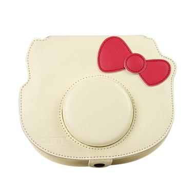 Fujifilm Leather Bag Polaroid Insta ... y Tas Case Kamera - Cream