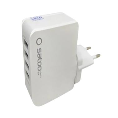 Satoo Fast Adaptor Charger with 4 USB Ports [4.2A]