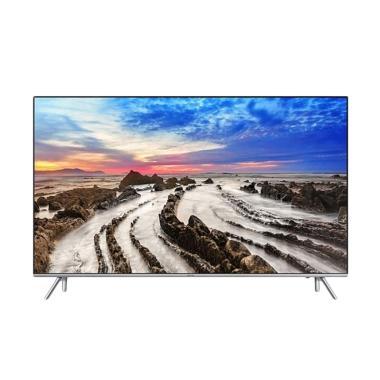 Samsung UA55MU7000KPXD Super UHD 4K Smart TV - Silver [55 Inch]