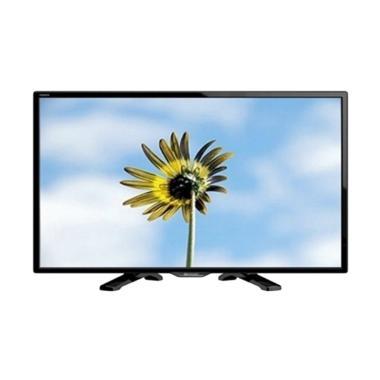 SHARP LC24LE175I TV LED - Hitam [Khusus Jadetabek]