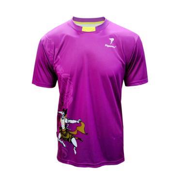 Flypower Lawu 2 Kaos Badminton - Purple Yellow
