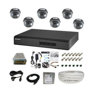 Hikvision Analog Indoor C Paket Kam ...  TVL/ Non IR/ 1TB/ 100 m]