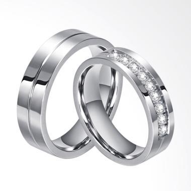 Fanscouple Tipe 35 Anti Karat Cincin Couple