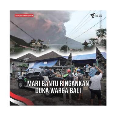 Dompet Dhuafa - Peduli Gunung Agung Bali E-Voucher