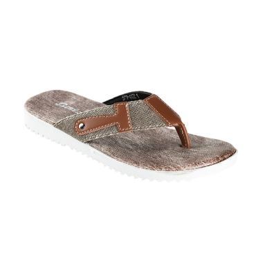 Bata Child Tira Sandal Anak Laki-laki - Brown