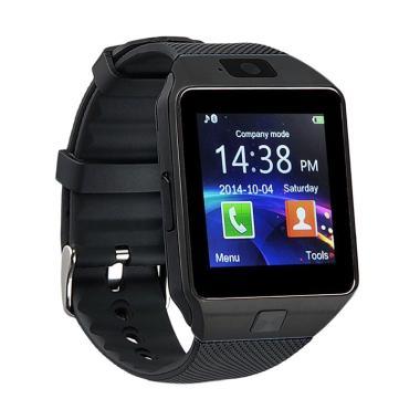 SOXY Dz09 CC0150A-A Touch Clocks Smart Watch - Black