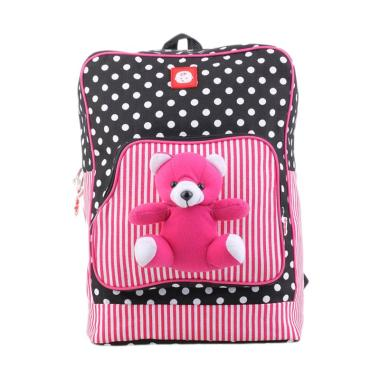 Catenzo Junior Tas Ransel Sekolah Anak Perempuan - Pink