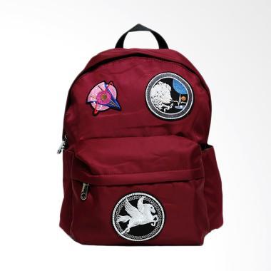 Vivaci U 790 Bordir Wanita Urban Backpack Wanita - Marun