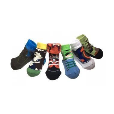 Petite Mimi Socks Como Kaos Kaki Bayi [6 Packs]