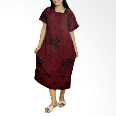 Batik Alhadi RDT001-16D Daster Bati ...  Baju Tidur Lengan Pendek