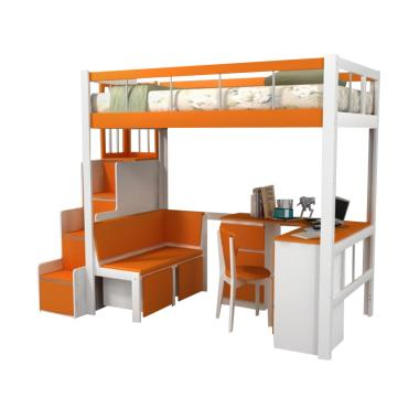 Funkids Magnus 01-120 TL Tempat Tidur Anak - Orange
