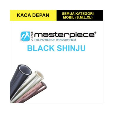 Masterpiece Black Shinju Kaca Film Mobil for Small Car [Kaca Depan]