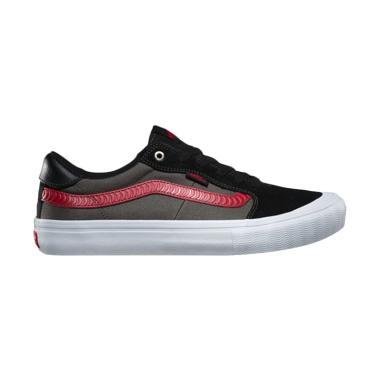 Vans X Spitfire 112 Pro Style Sepatu Skate Pria - Black Red