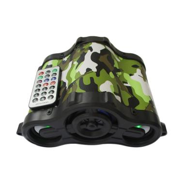 Advance Tentara TP-ONE Speaker Portable with LED - Hijau